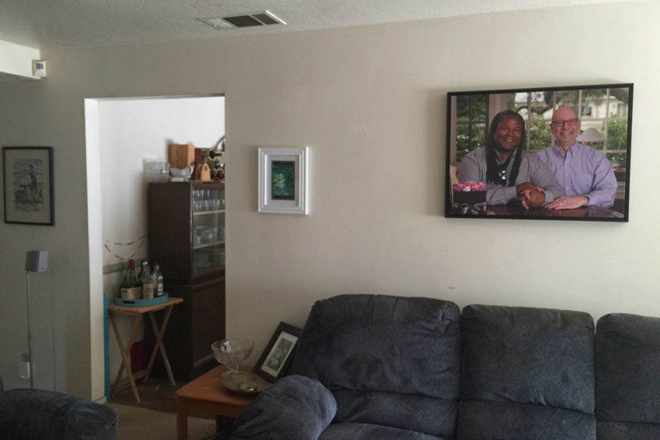 photo of wall portrait hanging in client s home article Archives  Positive Vista Photography Art by Portia Shao